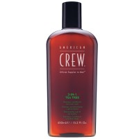 American Crew 3-in-1 Tea Tree Shampoo, Conditioner & Bodywash 450 ml