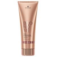 Schwarzkopf Blondme Enhance Bond Shampoo warmes blond 250 ml