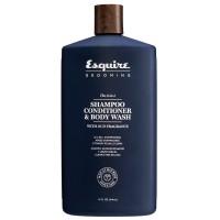 Esquire Grooming 3-in-1 Shampoo, Conditioner, Bodywash 414 ml