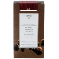 Korres Argan Oil Hair Colorant 5.6 Hellbraun Rot