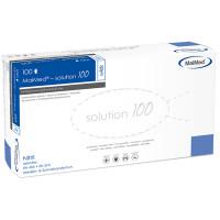 MaiMed Solution 100 Nitril 100 Stück Weiß Gr. S