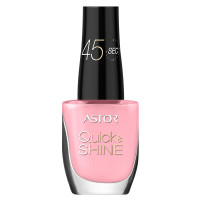 ASTOR Quick & Shine Nagellack 529 Pale Candy 8 ml