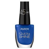 ASTOR Quick & Shine Nagellack 532 Striking Blue 8 ml