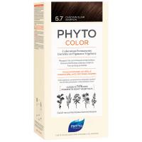 Phyto Phytocolor 5.7 Helles Kastanienbraun Kit