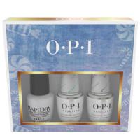 OPI Nussknacker Collection Top Coat Trio Set