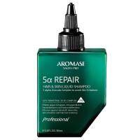 AROMASE Salon-Pro 5a Repair Hair & Skin Liquid Shampoo 80 ml