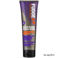 Fudge Clean Blonde Damage Rewind Viollett Toning Shampoo 50 ml
