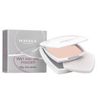 Mavala Wet & Dry Puder Bazar/ Helles Beige 10 g