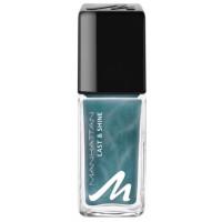 Manhattan Last & Shine Nail Polish 821 Aqua Chrome 10 ml