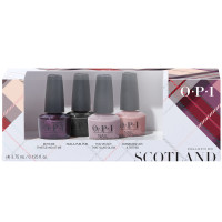 OPI Scotland Collection 4er Mini Set