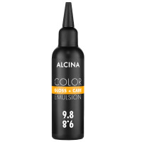 Alcina Color Gloss + Care Emulsion 9.8 lichtblond-silber 100 ml