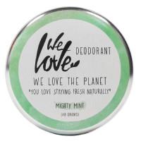 We Love The Planet Natürliche Deodorant Creme Mighty Mint 48 g