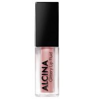 Alcina Glittery Lip Fluid Rose 01