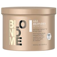Schwarzkopf Blondme All Blondes Detox Mask 500 ml