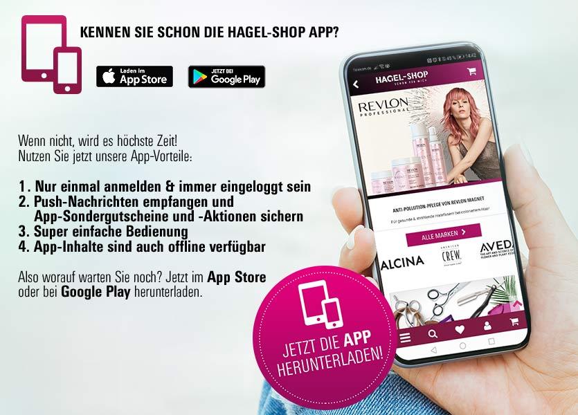 Hagel App-Vorteile